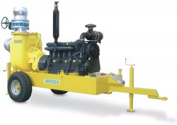 Diesel Multi-Cylinder Self-priming Motorpumps